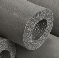вспененный каучук для заводы воды в дом
